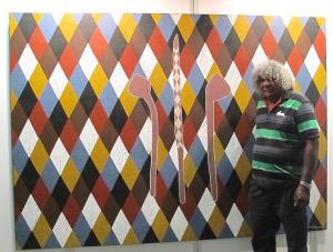 Local artist Digby Moran
